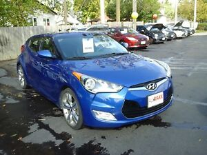 2013 HYUNDAI VELOSTER TECH- PANORAMIC SUNROOF, NAVIGATION SYSTEM
