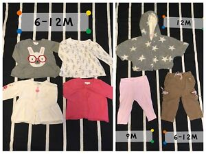 Girl clothes lot 0-12m
