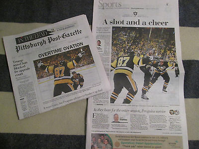 Pittsburgh Penguins Win 2017 Conference   Post Gazette Newspaper 5 26 2017