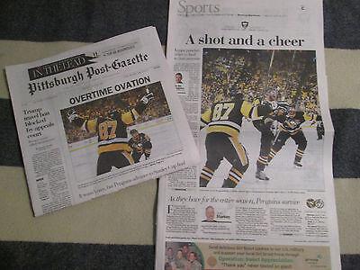 Pittsburgh Penguins Win 2017 Conference   Post Gazette Newspaper 5 26 2017