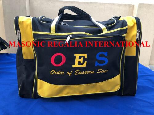 MASONIC OES DUFFLE BAGS, ORDER OF EASTERN STAR DUFFLE BAG, TRAVEL DUFFLE BAGS