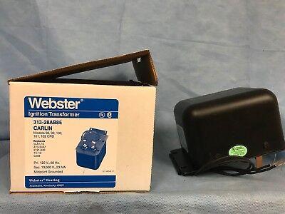 Webster Ignition Transformer 313-28ab85 Carlin