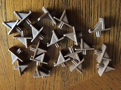 Shelf Support With 1 4  Fluted Peg  Tan  20 Pcs  With Usps Tracking Number