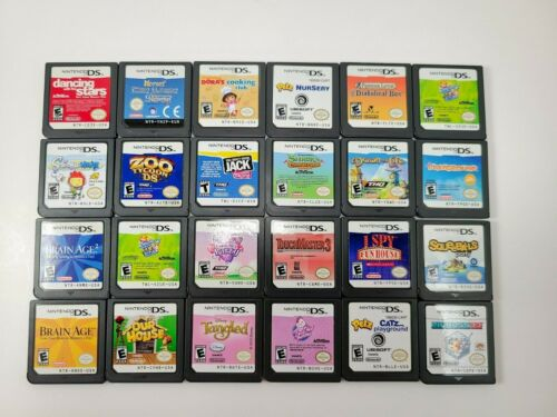 Nintendo DS Lot - You Choose; Cleaned and Verified Working.  Bundle and Save