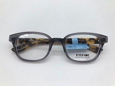 EyeFunc London 8080 Designer Eyeglasses Frame 48-20-130 Gray Tortoise C54 for sale  Overland Park