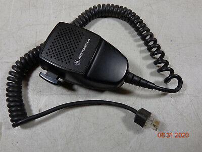 Motorola Cdm1550 Vhf Cdm Hmn3596a Maxtrac Pm400 Uhf M1225 Cm300 8 Pin Radio Mic