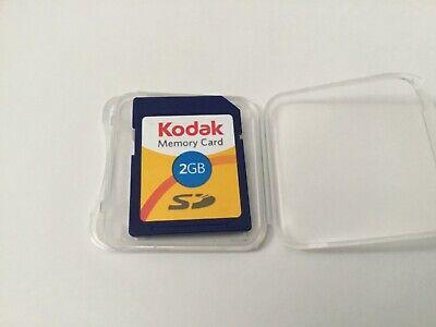 1pcs 2gb Kodak standard SD MEMORY CARD SD NIKON CANON,Trail Cameras