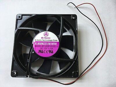 Bi-Sonic DC Brushless Fan Motor Model BP1203812H-03 12V 1.10A