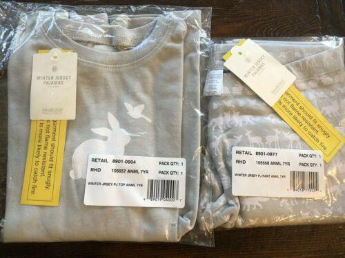 Restoration Hardware Pajama Set Child Pajamas New Bunny Christmas Winter Jersey