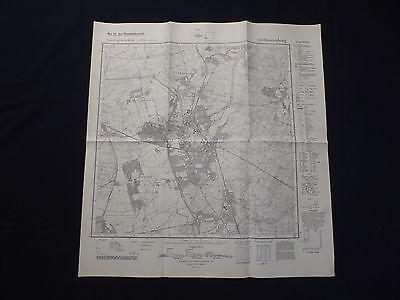 Landkarte Meßtischblatt 3245 Oranienburg, Borgsdorf, Sachsenhausen, 1939