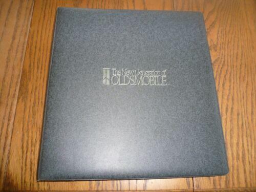 1990 Oldsmobile Dealer Showroom Pricing Binder Manual - Vintage