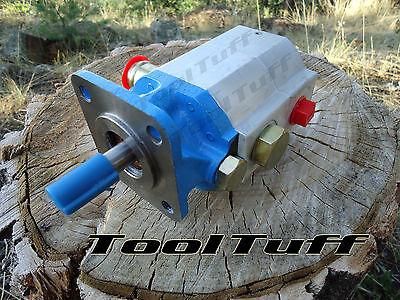 11 GPM Hyd. Log Splitter Pump, 2 Stage Hi Lo Gear Pump, COUNTER CW (Hyd Pump)