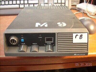 Midland Mobile 70-052b 30-50 Mhz 50 Watt Low Band R8