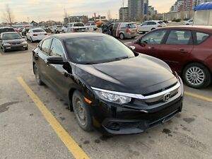 2016 Honda Civic EX-T -CVT - Honda Warranty- Low km