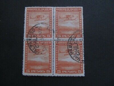 CHILE - BLOCK OF STAMPS - LIQUIDATION STOCK -  EXCELLENT OLD STAMPS - 3375/34