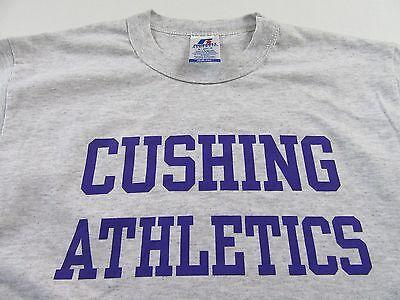 Cushing Athletics Cushing Academy Sports Fan Gray Russell T Shirt Size S  Nwot
