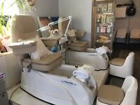 Rent a chair or mani/pedi station in a new salon!