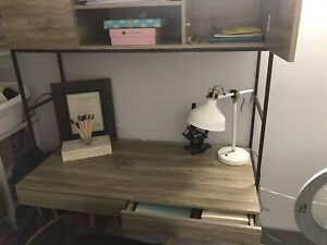 Wood/Metal desk