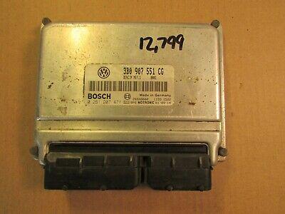02 VOLKSWAGEN PASSAT 6CYL ECU ECM COMPUTER 3B0 907 551 CG