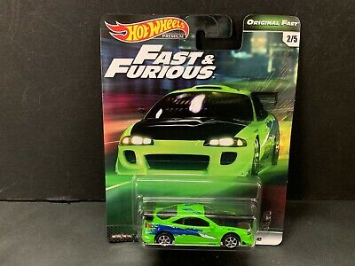 Hot Wheels Mitsubishi Eclipse Fast and Furious GBW75-956B 1/64