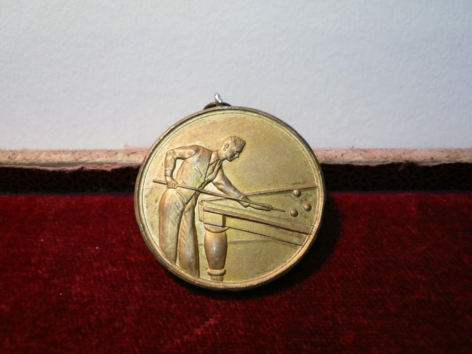 Old / Vintage Snooker / Billiards bronze medal