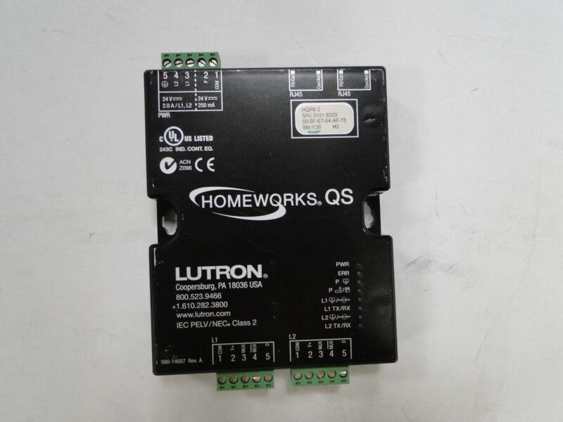 LUTRON Homeworks QS Processor - HQP6-2