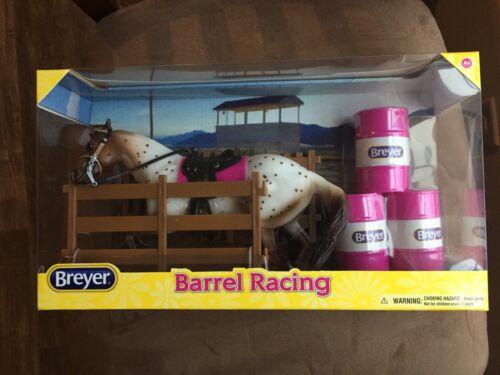 BREYER Barrel Racing #61089 scamper mold appaloosa pink barrels [-]