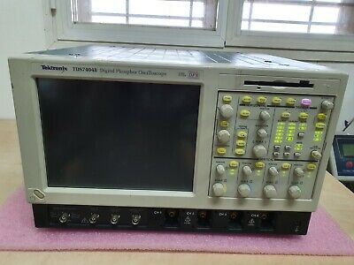 Tektronix Tds7404b Digital Phosphor Oscilloscope 4ghz