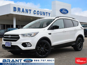 2017 Ford Escape SE - LOW KMS, NAV, HEATED SEATS, SPORT PKG!