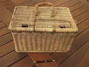 Vintage Cane Fishing Tackle Box Eleebana Lake Macquarie Area Preview