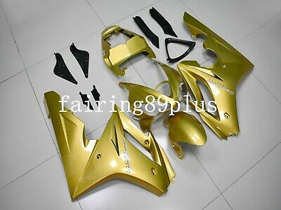 Gold ABS Injection Plastic Fairing Kit Fit for Triumph Daytona 675 2006-2008