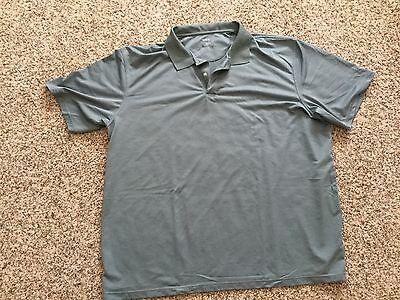 Rbk Golf ( Reebok RBK Golf Shirt Silky Smooth 4x 4XL XXXX XXXXL Dark Green Sage Forest )