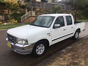 Ford Courier XLT 2003 Dual Cab 4x2  Ute Kellyville The Hills District Preview