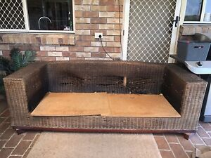 FREE Rattan Outdoor Sofa with mattress if desired
