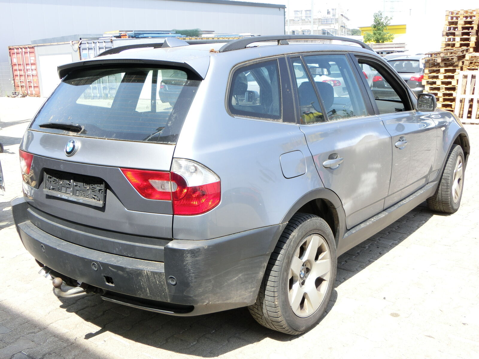 Rear Position Lamps Tail Lights Flap Left for BMW X3 E83 03 06