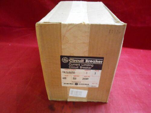 Ge Thlc436350 Circuit Breaker  350amp  600vac  3pole  New/unopened