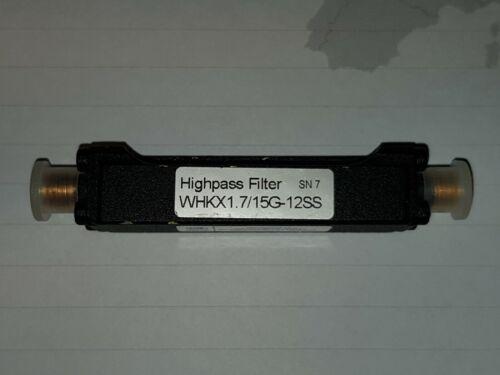 highpass filter