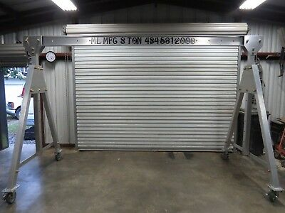 Aluminum Portable Adjustable Gantry Crane 3ton 12x12free Shipping Ready To Ship