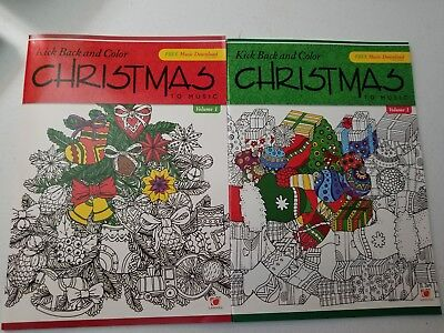 ADULT CHRISTMAS COLORING BOOKS~FOR RELAXING,DESTRESSING, STOCKING STUFFERS - Christmas Coloring Books