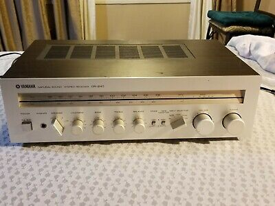 Vintahe YAMAHA CR-240 Natural Sound Stereo Receiver