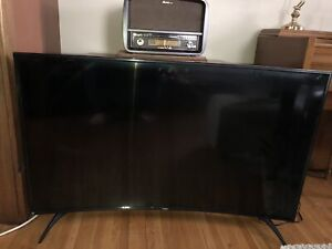 "55"" Haiter curved Tv"