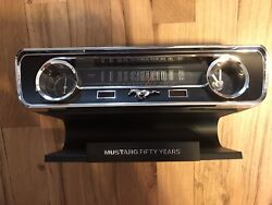 Ford Mustang Fifty Years Desktop Sound Clock, Thermometer & Hygrometer