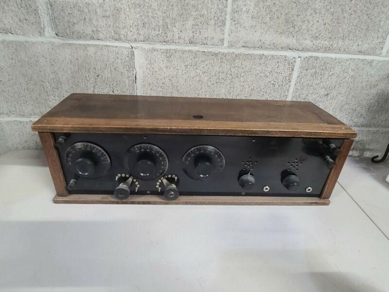 Vintage Antique Atwater Kent Tube Radio? Needs Repair #SB
