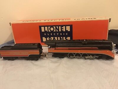 Lionel O Scale Southern Pacific Powered Engine With Tender. Excellent Condition!