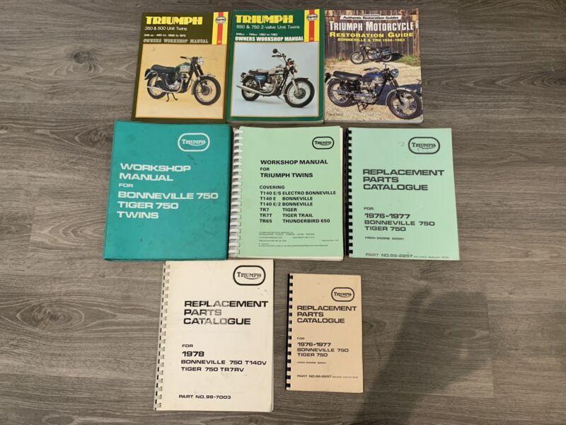 1978 triumph bonneville 750 parts