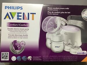 Philips Avent Electric Double Breast Pump with all accessories