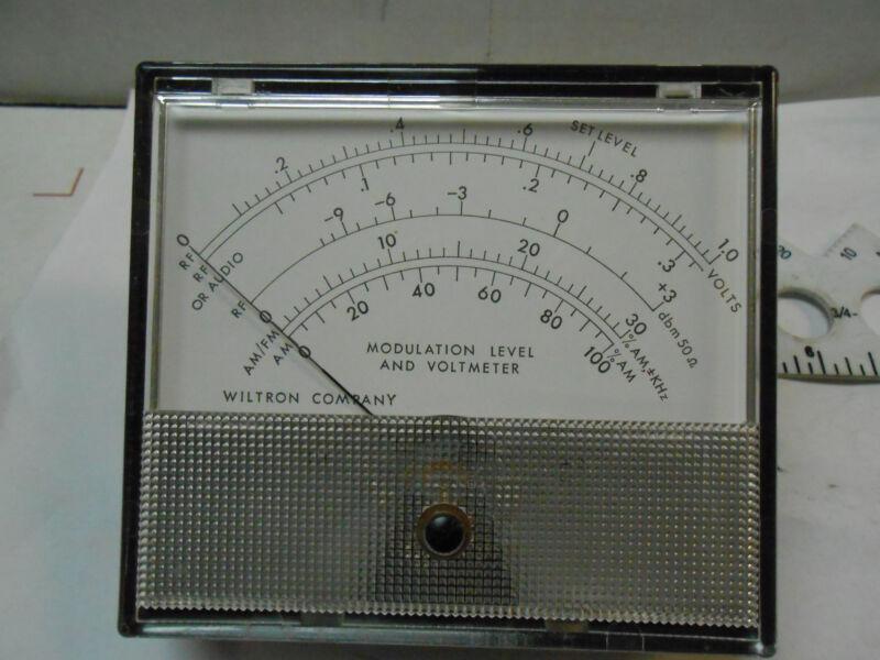1941T WILTRON MODULATION/VOLTMETER /RF/AM-FM    NEW OLD STOCK