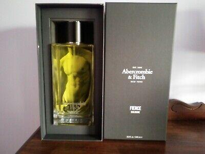 NWB Abercrombie Fierce Cologne - 33.8 Fl.Oz./1000 ml - Only 700 Bottles Made