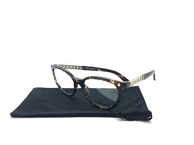 Karl Lagerfeld Plastic Tortoise Eyeglasses kl911 013 53 17 135 Filigree Temples