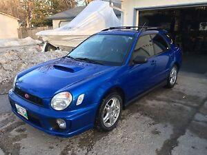 Rust free 2002 Subaru Impreza WRX safetied